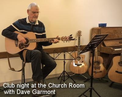 Club night at the Church Room with Dave Garmont